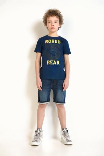 T-shirt bleu nuit